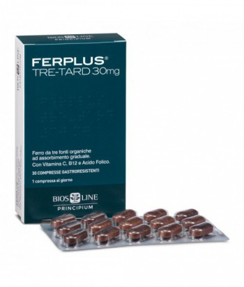 FERPLUS TRE-TARD 30MG 30CPR