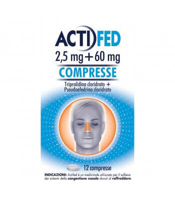 ACTIFED 12CPR 2