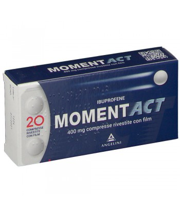 MOMENTACT 20CPR RIV 400MG