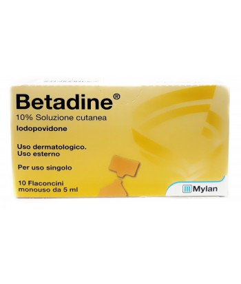 BETADINE SOL CUT 10FL 5ML10%