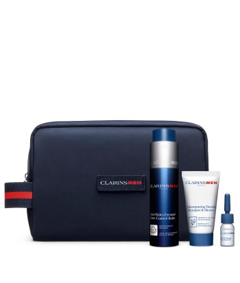 Clarins Cofanetto Men Anti-Aging Trousse Trattamenti Specifici Rassodanti foto trousse